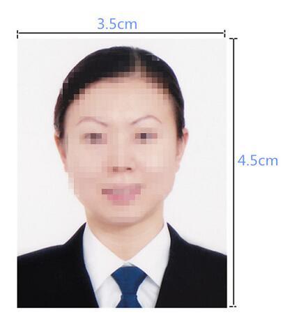 德国签证照片要求